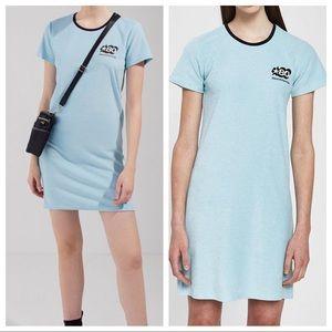Stussy Barra Short Sleeve Mini Dress Small